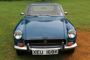 MGB GT 1972