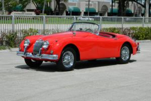 1959 Jaguar XK HERITAGE DOCUMENTED XK150 OTS ROADSTER 3.4L