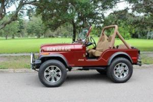 1980 Jeep CJ Custom