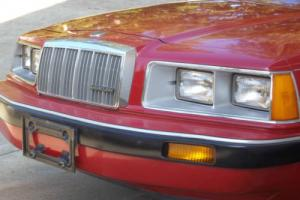 1984 Mercury Cougar  2 Door