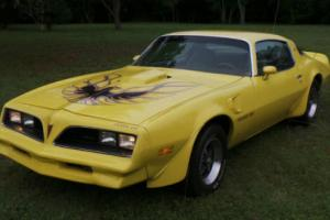 1977 Pontiac Trans Am GOLDENROD YELLOW