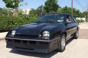 1987 Shelby Charger GLHS Photo
