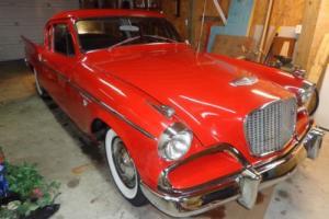 1957 Studebaker coupe silver hawk Photo