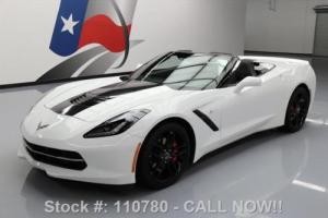 2014 Chevrolet Corvette STINGRAY CONVERTIBLE 2LT 7-SPD NAV