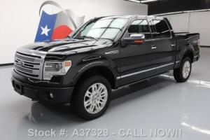 2013 Ford F-150 PLATINUM CREW 4X4 5.0 SUNROOF NAV