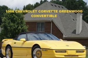 1986 Chevrolet Corvette WE OFFER NATIONWIDE SHIPPING