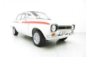 A Genuine AVO Mk1 Ford Escort RS Mexico in Impeccable Award Winning Condition