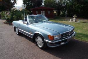 1988 MERCEDES 300 SL AUTO BLUE