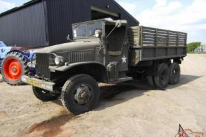 1945 GMC 353 DEUCE AND A HALF 6X6 ORIGINAL ARMY TRUCK
