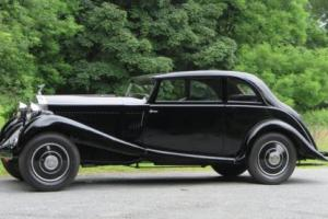 1934 Rolls-Royce 20/25 Park Ward Fastback Saloon GHA29 Photo