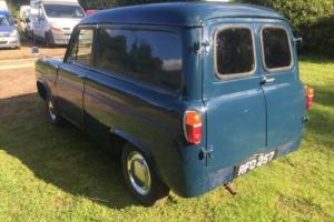 1961 FORD THAMES VAN 100e 300e BLUE CLASSIC RETRO COMMERCIAL 5CWT SIDEVALVE RARE Photo