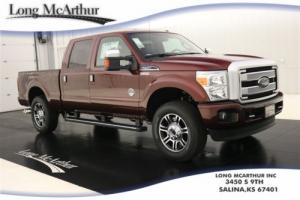 2016 Ford F-250 PLATINUM 4X4 CREW CAB NAV MOONROOF MSRP $69390
