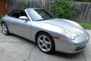 2003 Porsche 911 2dr Carrera Cabriolet 6-Speed Manual