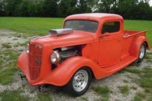 1936 Ford F-100 Pro Street, Chassis Pro Built Photo