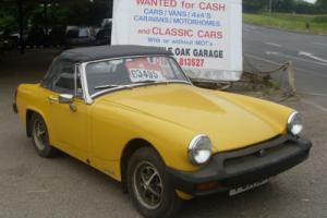 1980 MG Midget 1500 Yellow Convertible £2495