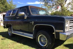 1985 Chevrolet Blazer Silverado