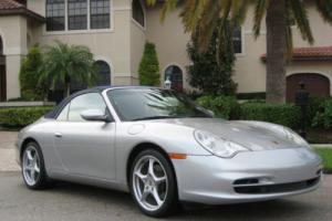 2002 Porsche 911 2dr Carrera Cabriolet 6-Speed Manual