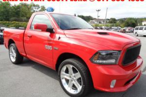 2015 Dodge Ram 1500 Reg Cab Short Bed 2WD R/T 5.7L Hemi V8 4x2 Red