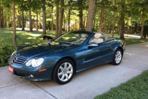 2003 Mercedes-Benz SL-Class Retractable Hardtop