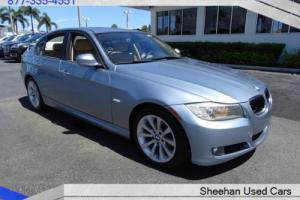 2011 BMW 3-Series 328i Lovely Blue 1 Owner CLEAN Carfax Florida 4dr!