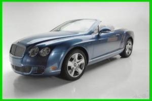 2011 Bentley Continental GT 2DR CONV
