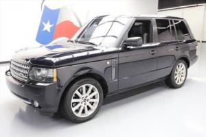 2012 Land Rover Range Rover SUPERCHARGED 4X4 NAV