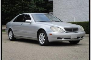 2000 Mercedes-Benz S-Class Navigation Just 58k Miles