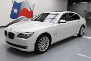 2012 BMW 7-Series 750LI ACTIVEHYBRID LEATHER SUNROOF NAV