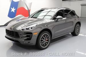 2016 Porsche Macan TURBO AWD PANO SUNROOF NAV 20'S