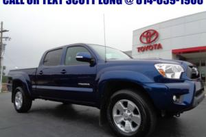 2014 Toyota Tacoma 2014 Long Bed Double Cab TRD Sport Blue Ribbon 4x4