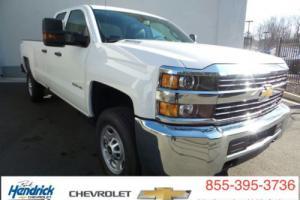 "2016 Chevrolet Silverado 2500 4WD Double Cab 158.1"" Work Truck"