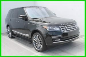 2016 Land Rover Range Rover Autobiography 4WD S/C V8 510HP