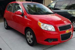2010 Chevrolet Aveo Hatchback