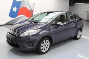 2013 Ford Fiesta SE SEDAN AUTO CRUISE CTRL ALLOYS