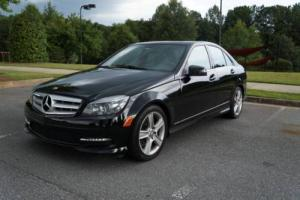 2011 Mercedes-Benz C-Class C300 SEDAN SPORT SUNROOF