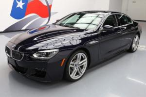 2013 BMW 6-Series 640I GRAN COUPE HTD SEATS SUNROOF NAV HUD