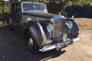 """1951 BENTLEY MK VI """"BIG BORE"""" 4.1/2 LTRE HJ MULLINER SPORTS HIGHLY ORIGINAL CAR"""