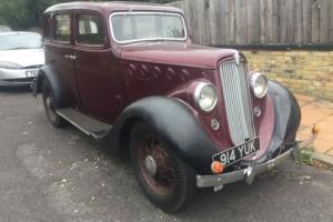 1936 WILLYS SALOON 77 Rare,low mileage, Right hand drive