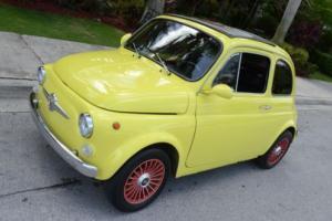 1969 Fiat 500 Photo