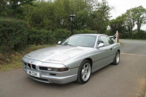 BMW 840Ci 1995 4.0 V8 ARTIC SILVER WITH BLACK NAPPA LEATHER, IMMACULATE EXAMPLE Photo
