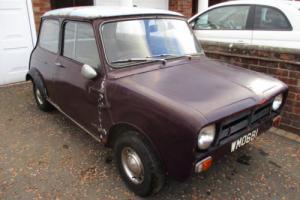 AUSTIN SEVEN MINI 1960 / BARN FIND / UNUSED FOR 40 YEARS / INTERESTING CAR !!