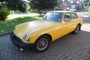 1980 MG B GT *MOT'D TILL SEP 2017* TIDY CAR*DRIVE AWAY SPARES OR REPAIR* BARGAIN