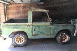 Land Rover Series 2 1958 in VIC