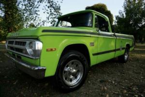 """1970 Dodge """"Dude"""" D200 Pickup Truck UTE Factory BIG Block Original Paint in VIC"""