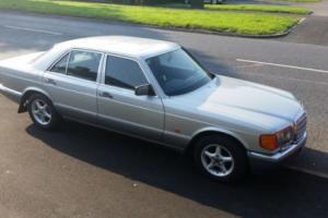 Stunning 48000 genuine Mls Mercedes 300SE W126 300 SE w 126 auto automatic