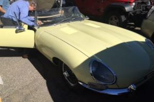 Jaguar e type 1964 3.8L, famous heritage, matching numbers, excellent runner!