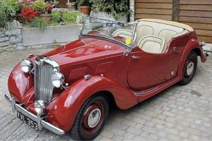 1949 MG Y-Type Roadster - Restored to highest possible Concours standard!!