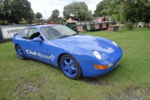 1993 PORSCHE 968 CS CLUB SPORT MARTINE BLUE BUCKET SEATS ORIGINAL CAR FSH