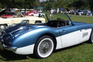 Austin Healey 3000 MK1 1960 - Restoration project - Great history - Fire damaged