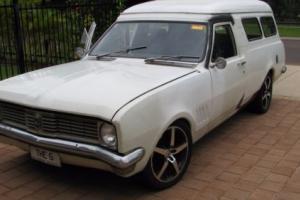 1971 HG Holden Panelvan in QLD